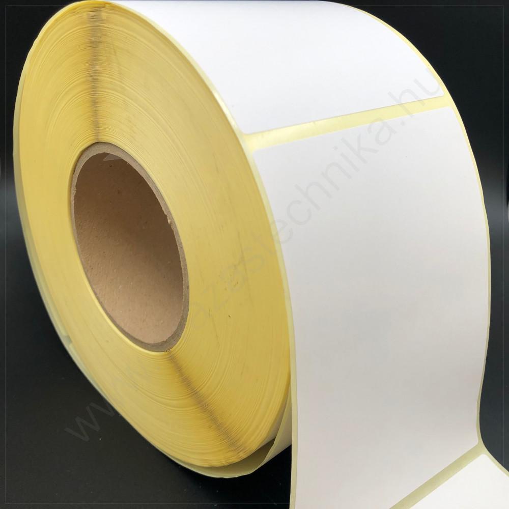 100×100mm vellum papír címke 1500 db/tek