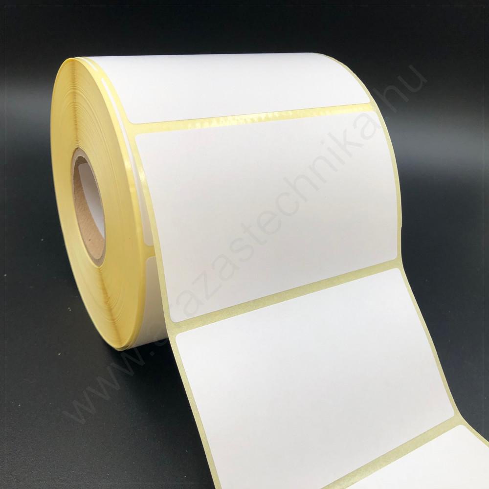 100×40 mm vellum papír címke 1000 db/tek