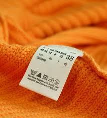 TEXTIL ruhacímke