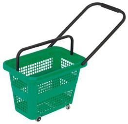 Bevásárló kosár - gurulós