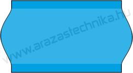 22x12mm árazócímke - kék - eredeti OLASZ (1400db/tek)