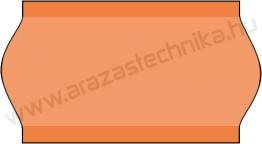 22x12mm narancssárga árazócímke