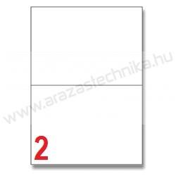 210×148 mm 2db/ív Rayfilm íves etikett címke [1122]