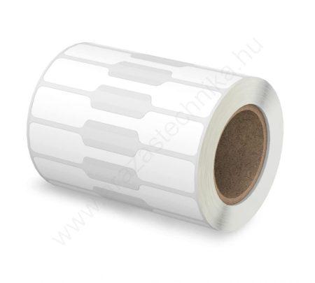 Ékszercímke 49×10 mm műanyag 1000 db/tek