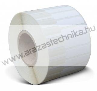 Ékszercímke 64x10 mm műanyag 1000 db/tek
