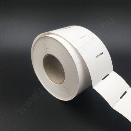 Polccímke 50×30 mm THERMO - fehér kartoncímke (1.000db/tek)