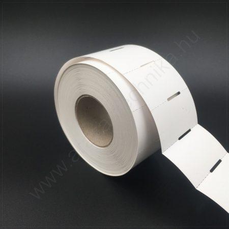 Polccímke (3 cm-es ársínhez) 50×30 mm THERMO - fehér kartoncímke (1.000db/tek)