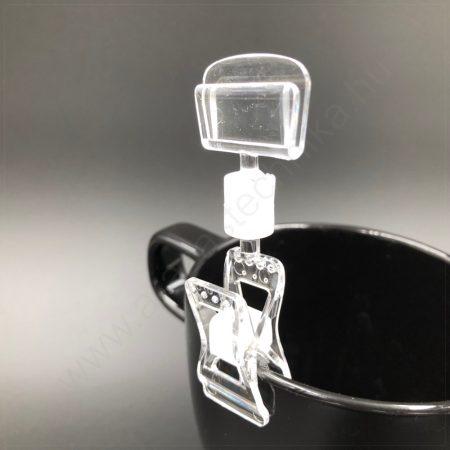 Ártartó csipesz 10mm vastag profilra