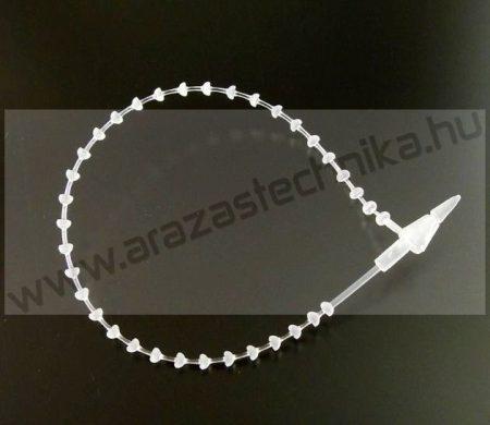 Gyorskötöző 12,5 cm fehér
