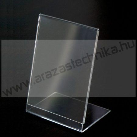 A6 álló laptok - döntött asztali plexi laptartó