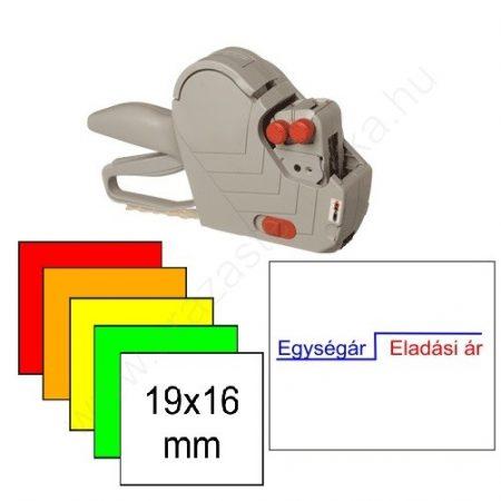 METO EC 1619 kétsoros árazógép csomag