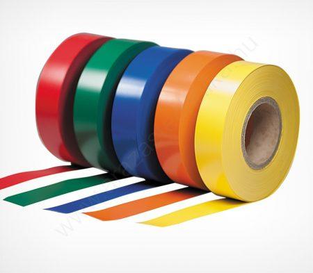 Háttércsík 4cm × 100 méter (színes PVC)