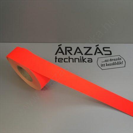 Háttércsík 4cm × 50 méter (FLUO piros papír)