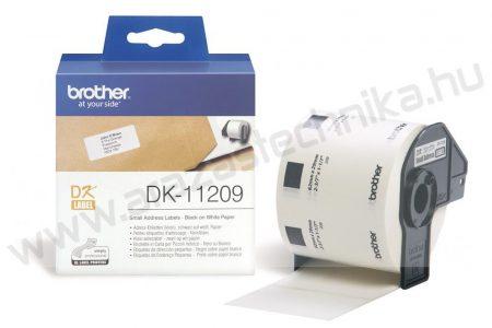 Brother DK-11209 etikett 29mm x 62mm 800db/tekercs