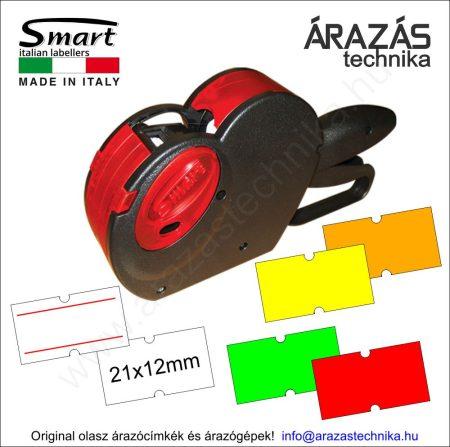 SMART PH6 egysoros árazógép (6 karakter) 21×12mm Motex címke