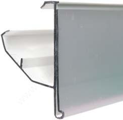 PATTINTÓS ársín 4cm × 123,5 cm Linde polchoz (átlátszó hátlap)