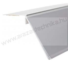 DÖNTÖTT ársín 4 cm × 98,5 cm - felülről ragasztható (fehér hátlap)