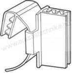 Gripper ársínhez / ársínben csúsztatható kartontartó ,reklám kihelyezésre