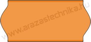 26x12 mm narancs árazószalag