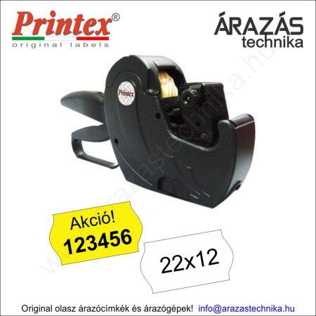 PRINTEX Z6/2212 egysoros árazógép + Akció! nyomat