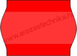 METO EC1622  / 22x16mm FLUO piros árazószalag