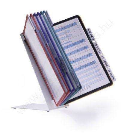 Asztali VARIO TABLE 10 db A4 lapozható (5570-00) színes keretek
