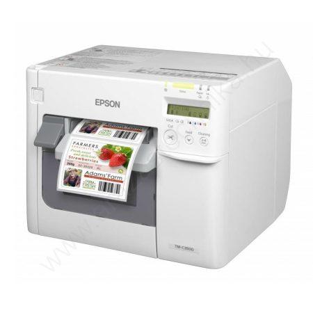 Epson TM-C3500 színes címkenyomtató (csomagolássérült, a nyomtató kifogástalan)
