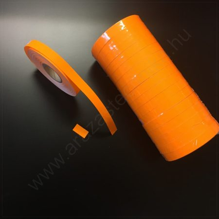 Monarch 1110 géphez 10x18,6mm FLUO narancs árazószalag