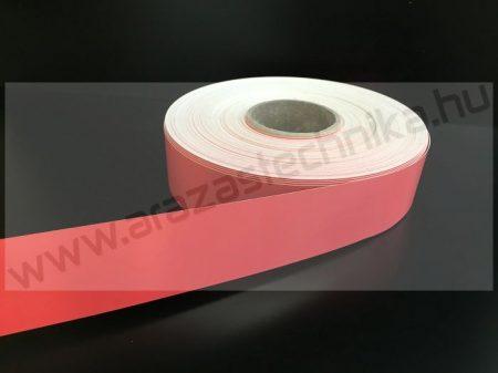 Háttércsík 3cm × 50 méter - piros PVC