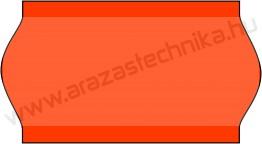 22x12mm METO fluo piros árazócímke