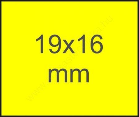19×16mm Meto EC1619 CITROM eredeti árazócímke
