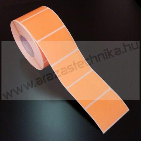 58×43mm THERMO - NARANCS papír címke (1.000db/tekercs)