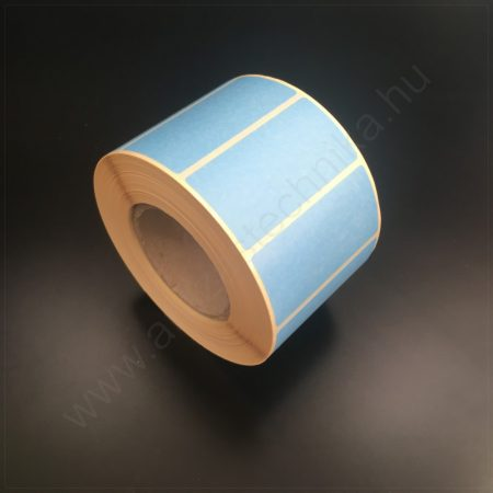 50x25mm TT papír címke (1.000db/tek) - KÉK