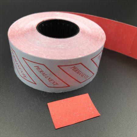 26x16mm piros ORIGINAL árazócímke [1.000db/tek] - szögletes