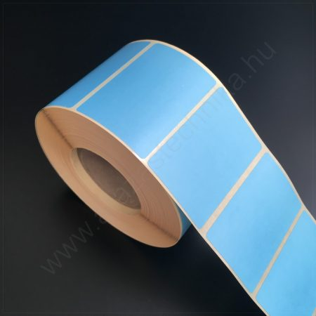 58×38mm THERMO - KÉK papír címke (1.000db/tekercs)