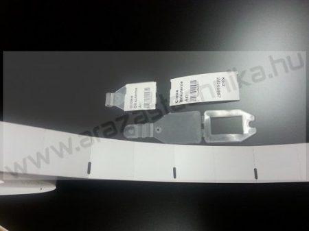 Kartoncímke 27x60 mm TH perforált ( DUPLA 27×30 mm)