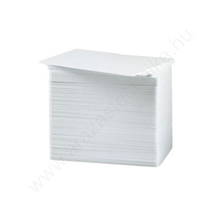 Zebra plasztikkártya 30 mil PVC kártya CR80