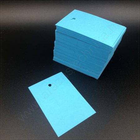 Függő címke 40×60mm KÉK (200 db/csom)
