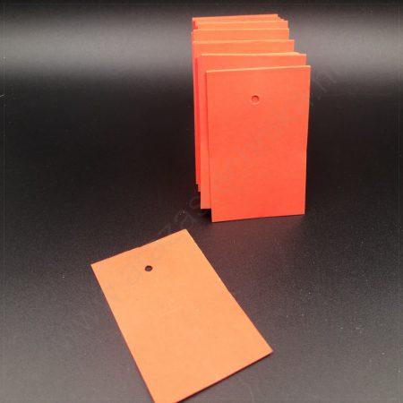 Függő címke 40×60mm PIROS (200 db/csom)