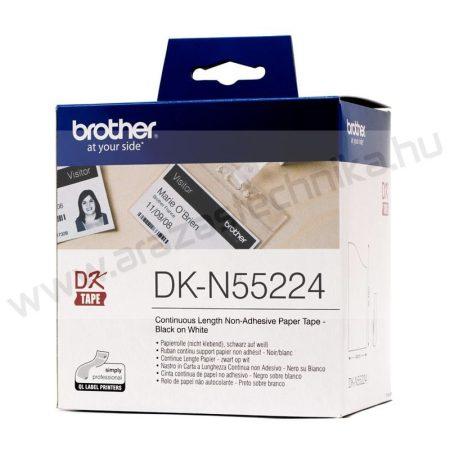 Brother DK-N55224 thermo papírszalag / 54mm széles × 30,48m / ársínbe