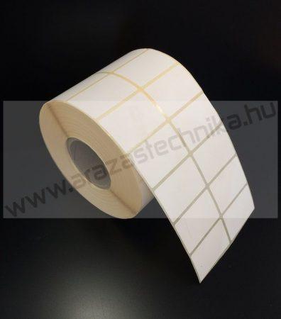 45x25mm THERMO címke (2×2.000 db/40)