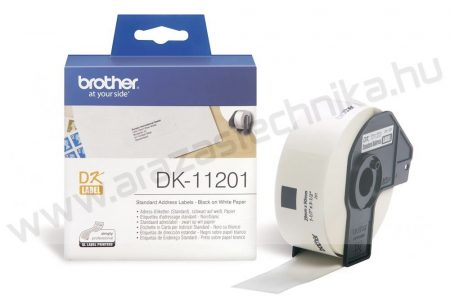 Brother DK-11201 etikett 29mm x 90mm 400db/tekercs
