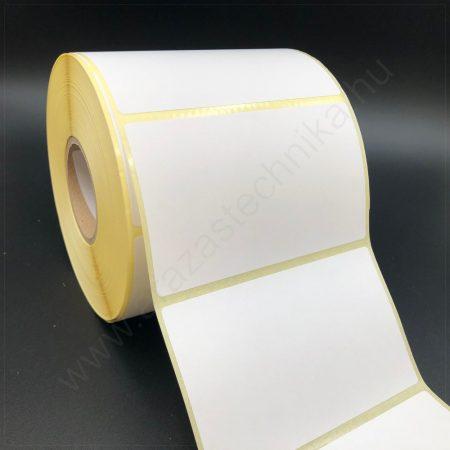 100×60 mm TT papír címke (1.000 db/tek) - hűtőházi ragasztó + RITZ