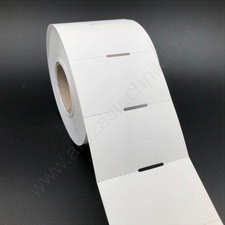 Polccímke 65×40 mm THERMO - fehér