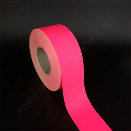 Háttércsík 4 cm×50 méter - papír - FLUO magenta