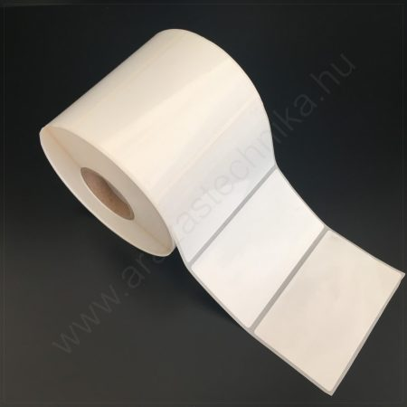 100x60 mm PP Gloss WHITE címke (1000db/40)