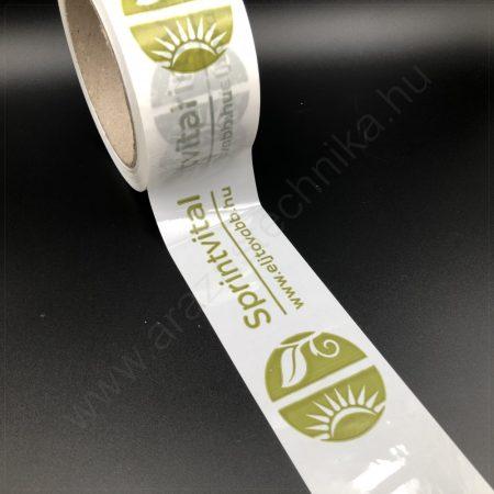 Csomagzáró szalag 50mm×66fm + 1 SZÍN logo