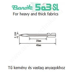 Póttű Banók 503-SL szálbelövő pisztolyhoz (3db/csomag)
