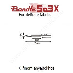Póttű Banók 503-X szálbelövő pisztolyhoz (3db/csomag)