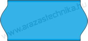 26x12mm eredeti OLASZ kék árazószalag